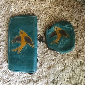 Fossil wallet and coin purse